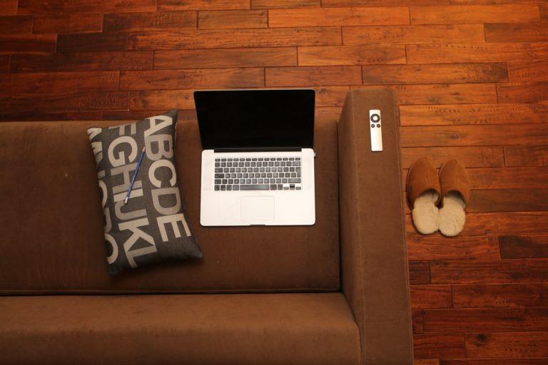 Thuiswerken, het creëren van een werkplek